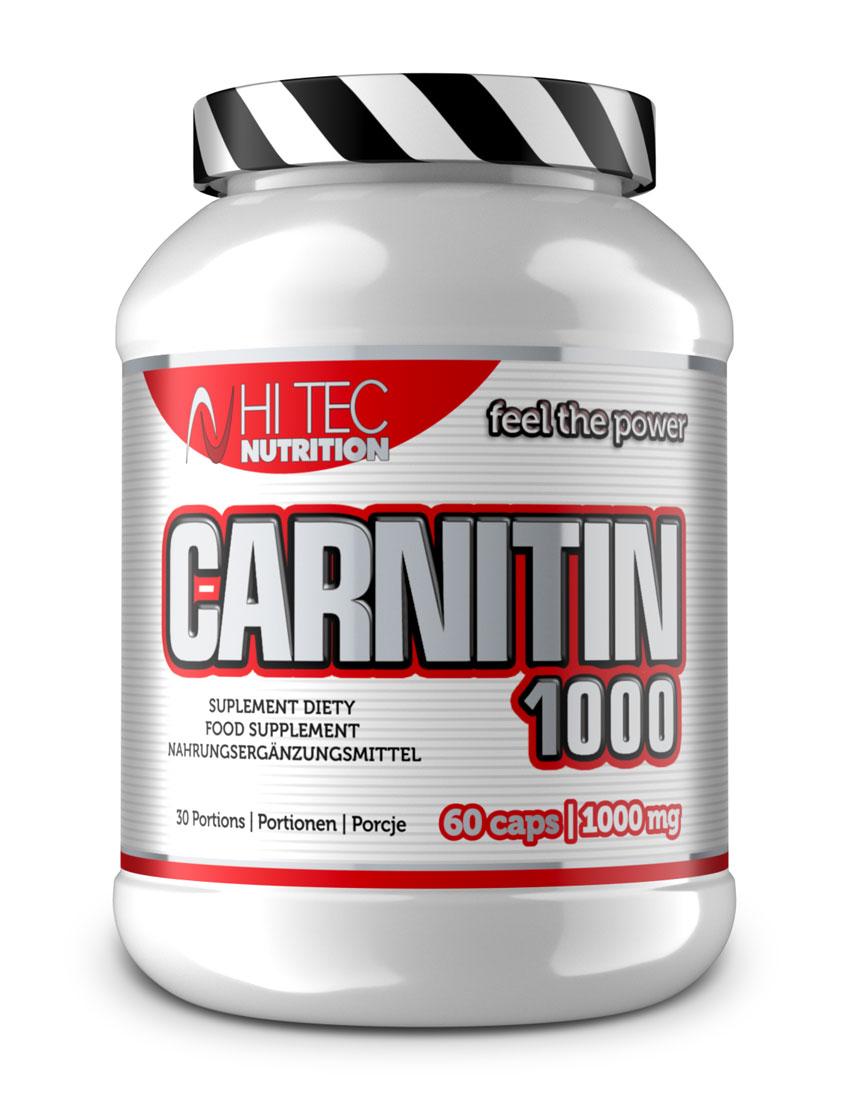 CARNITIN 1000 60 kaps/1000 mg