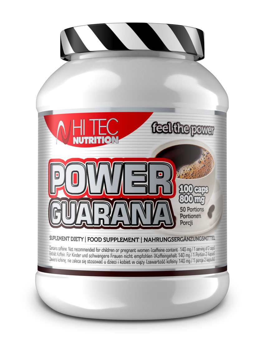 POWER GUARANA 100 kaps/800 mg