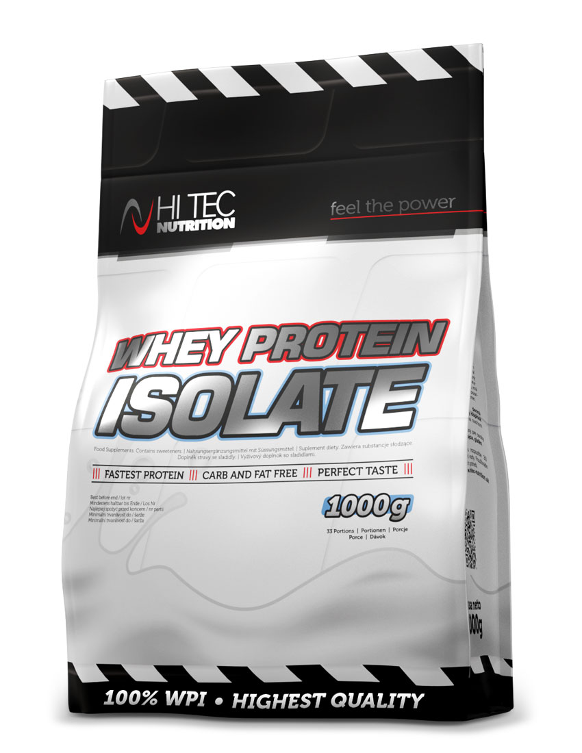 Whey protein isolate 1000 g čokoláda